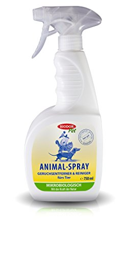 Biodor Pet Animal Spray , Geruchsentferner und Reiniger fürs Tier , 750 ml -
