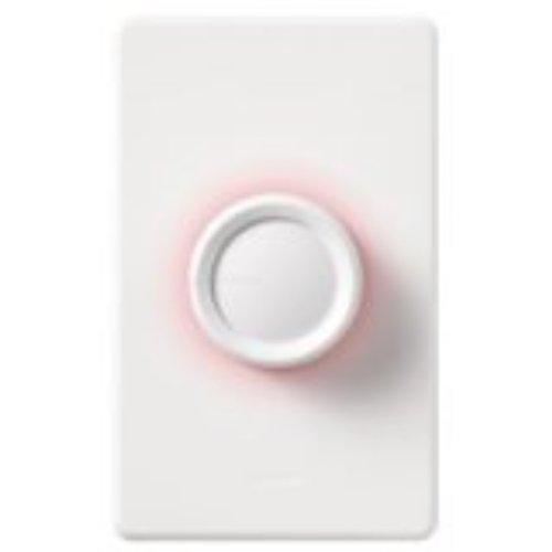 LUTRON ELECTRONICS INC Dim 'n Glo 600 W, 3-Wege-Schalter, Weiß/elfenbeinfarben Knöpfe