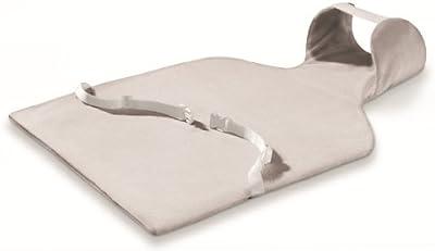 Beurer HKM-500 - Almohadilla electrónica LED cervical / dorsal, 62 x 42 cm, lavable, color blanco