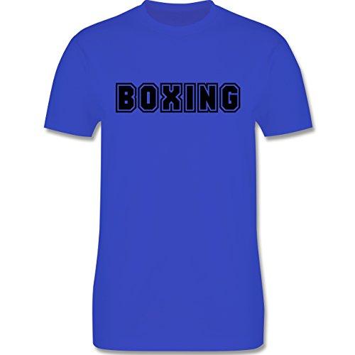 Kampfsport - Boxing Schriftzug - Herren Premium T-Shirt Royalblau
