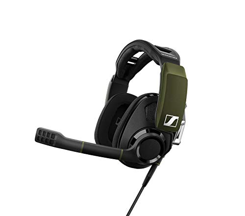 Sennheiser GSP 550 offenes PC-Gaming-Headset mit 7.1 Surround Sound Schwarz/Grün