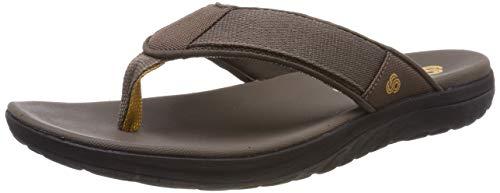Clarks Step Beat Dune, Zapatos de Cordones Derby para Hombre, Marrón Brown-, 39.5 EU