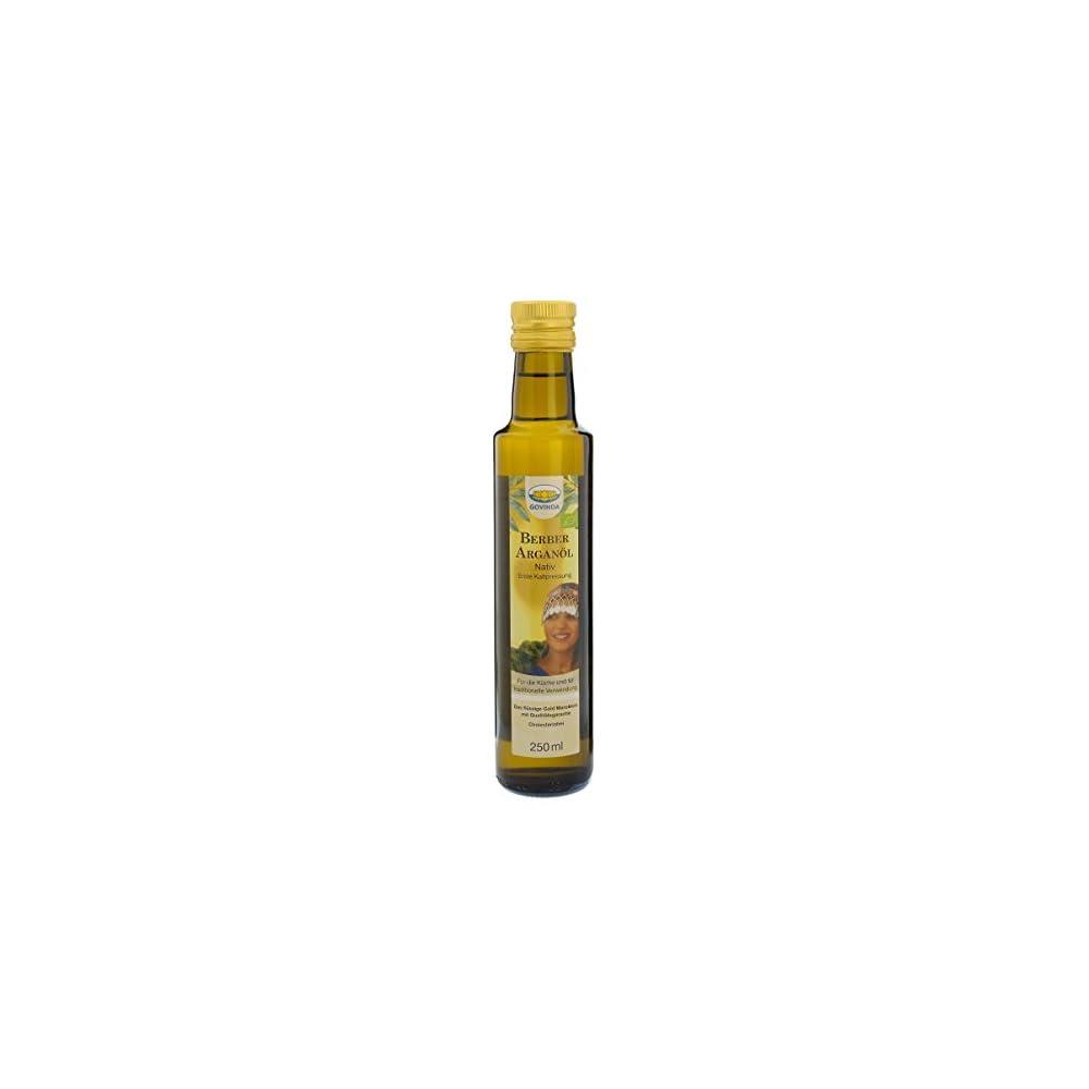 Govinda Premium Arganl Nativ 1er Pack 1 X 250 Ml Flasche Bio