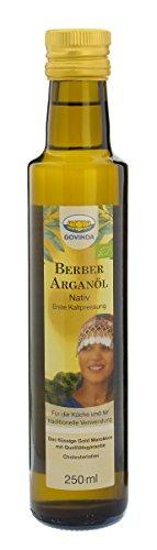 Govinda Premium-Arganöl nativ, 1er Pack (1 x 250 ml Flasche) – Bio