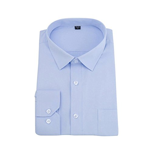 SEWORLD 2018 Herren Hemd Einfarbig Trachtenhemd Langarm Business -