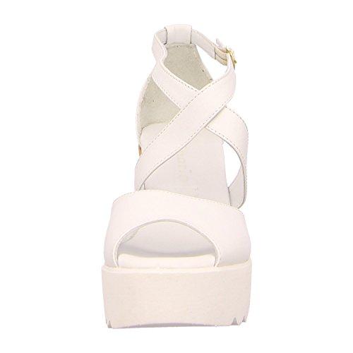 Tamaris 1-1-28351-26-197, Sandali donna 36 Bianco (White Comb)