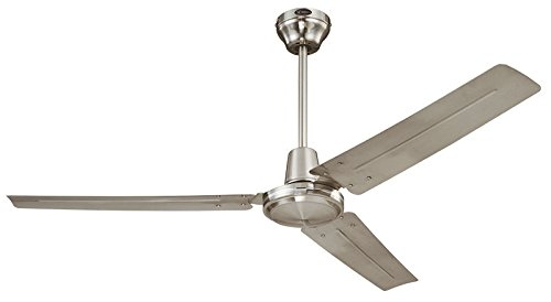 Westinghouse industriale Chrome - Ventilatore a soffitto