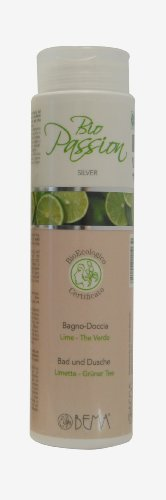 Bio Passion Bema Duschgel Limette-grüner Tee, 200 ml (Tee Grüner Limette)