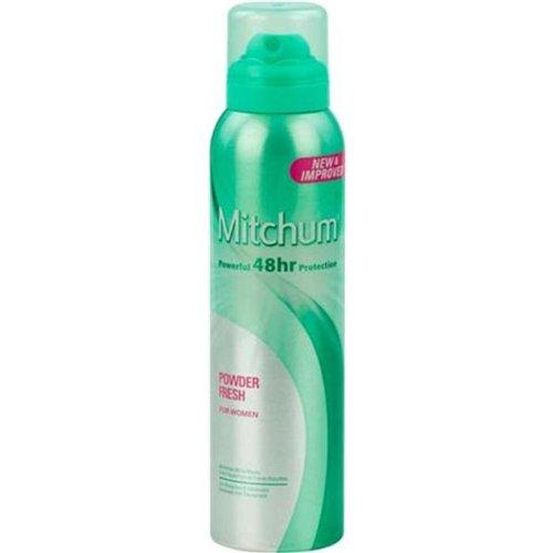 Mitchum 150 ml Aerosol-Pulver Fresh Anti-Transpirant und Deodorant - - Aerosol-pulver