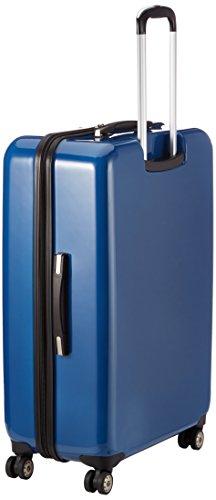 31ec5p9o6hL - Calvin Klein - Maleta tip trolley con reudas, 80 cm, 110 L, Azul