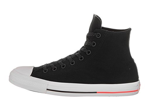 Converse – Adult Chuck Taylor All Star Hi Top Shoes, UK: 6 UK, Black/White/Lava