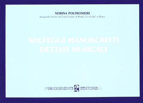 Solfeggi manoscritti e dettati musicali