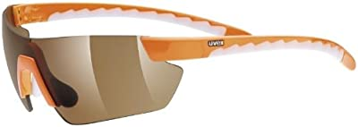 Uvex reithelme UVEX Gafas de sol Active Shield, One size, Naranja/antivaho Brown