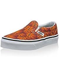 Vans - Classic Slip-on, Zapatillas Niños-Niñas, Multicolor (chambray/parrot/true White), 31.5 EU