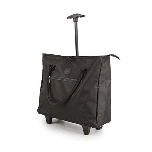 Leichte Einkaufstasche auf Rädern, Shopping-Trolley, Reisetasche, Kurzreisegepäck