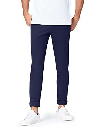 FIND Pantaloni Skinny Uomo, Blu (Navy 201), W30/L32 (Taglia Produttore: 30)
