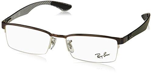 Preisvergleich Produktbild Ray-Ban Herren Brillengestelle 8412, Schwarz (Negro), 52
