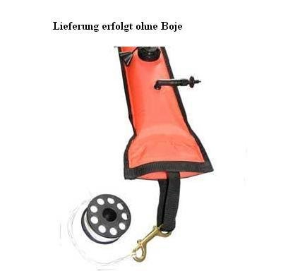 Subgear MINI REEL SMALL mit 15 m Leine u. Messingkarab. - 840.562.000