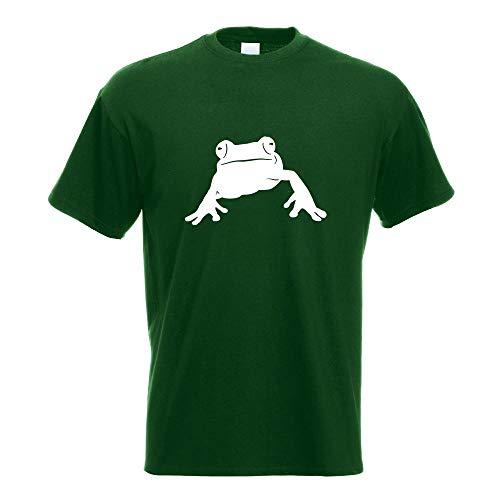 Kiwistar Frosch Frog Teich T-Shirt Motiv Bedruckt Funshirt Design Print