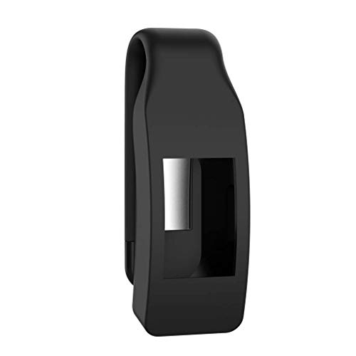 VvXx Schutzhülle für Fitbit Isnpire/Isnpire HR Tracker, aus Metall und Stahl, schwarz -