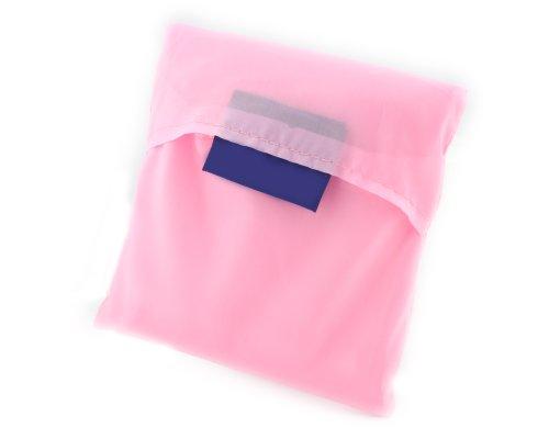 BONAMART Neu Eco Shopping Einkaufstasche Faltbar Tasche Einkaufsbeutel Stofftasche Pink