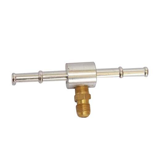 Tellaboull for Misuratore di Vuoto per Auto e Pompa del Carburante Kit di manometro Pompa del Carburante Pressione e Vuoto Prova di Vuoto del collettore di aspirazione del carburatore