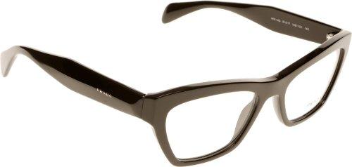 Prada Für Frau 14q Black Kunststoffgestell Brillen, 51mm