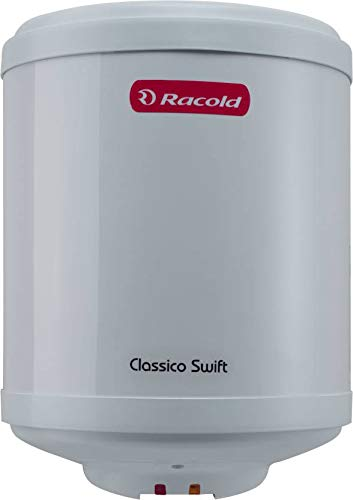 Racold 10 L Storage Water Geyser (White, CLASSICO SWIFT)