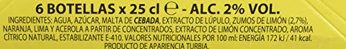 Amstel Radler Limon Beer - Packages of 6 Bottles x 250 ml - Total: 1.5L