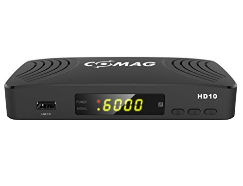 COMAG HD10 Digitaler HD Sat Receiver (Full HD, HDTV, DVB-S2, HDMI, SCART, PVR-Ready, USB 2.0) schwarz Hochauflösende Satelliten-fotos
