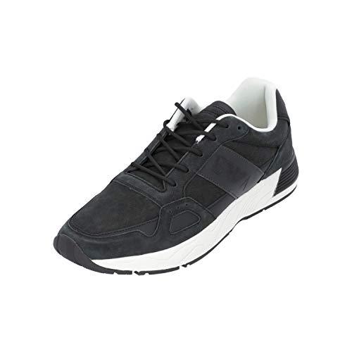 Armani LACE UP Sneaker Herren Sneakers Turn-Schuhe Sport Schwarz NEU OVP, Größe:EUR 43.5 (UK 9.5) (43.5 EU)