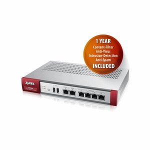 Preisvergleich Produktbild ZyXEL - ZyWALL USG-60 UTM BDL Firewall Appliance inkl. Lizenz