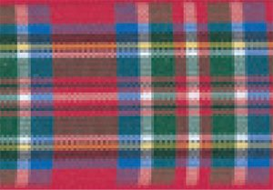 Berisfords Essentials Woven R762270.7/Royal Stewart Tartan-Band mit traditionellem Schottenmuster, 25 m x 70 mm (Band Stewart Tartan)