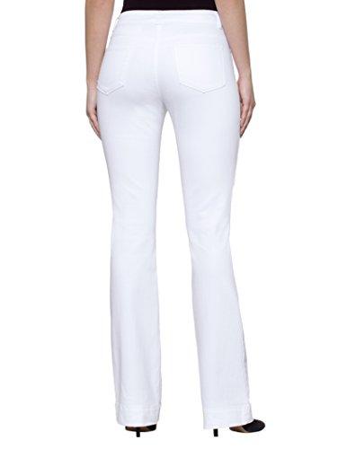 Damen Jeans mit Elastan für perfekte Passform by Alba Moda White White