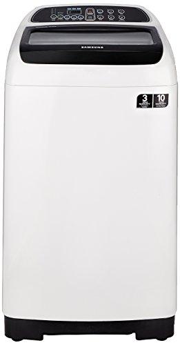 Samsung 6.5 kg Fully-Automatic Top Loading Washing Machine (WA65K4200HA, Sparkling Black and light grey)