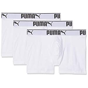 PUMA 3 x Mens Sueded Cotton Boxer Shorts