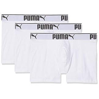 PUMA 3 x Mens Sueded Cotton Boxer Shorts