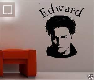 Online Design Edward Cullen Bild Dämmerung Wandkunst Aufkleber Schlafzimmer - Blau - Edward Cullen Design