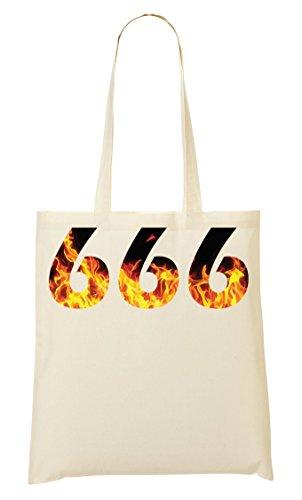C+P 666 Flames Tragetasche Einkaufstasche