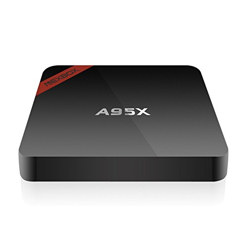 Kasit Android 6.0 4K TV-Box A95X Pro Amlogic S905X Quad Core 2G / 16G KODI 16.1 Vorinstallierte Unterstützung VP9 HDR HEVC Rooted Streaming Media Player 2.4G / 5G Dual-Band Wifi BT 4.0 mit Spdif(Euro-Stecker) - 4