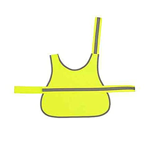 YOKO Hi-vis Dogs Vest (HVDW15) Strong Tear and Release Velcro® Fastening 100% Polyester (Small,