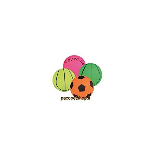 Trixie 3443 Neonball, Moosgummi, schwimmend, ø 6 cm, 1 Stück