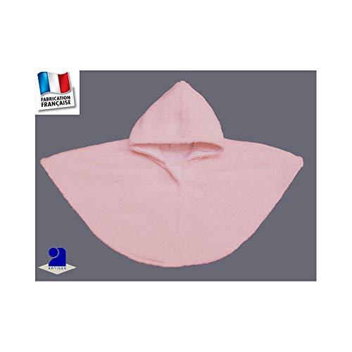 Poussin bleu - Poncho-Cape à capuche en polaire peluche Made In France  Couleur - 27721d0e08a