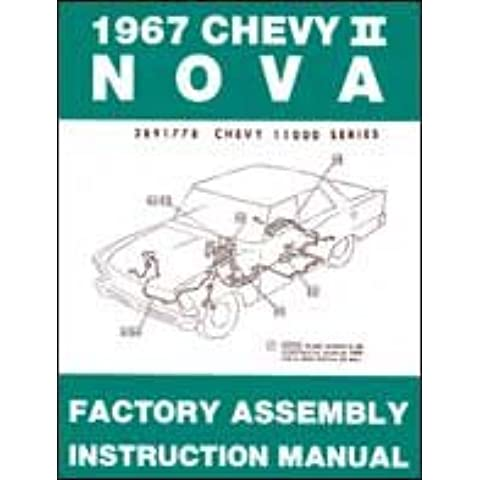 1967 Chevy II Nova Factory Assembly Manual 67 (with Bonus Decal)