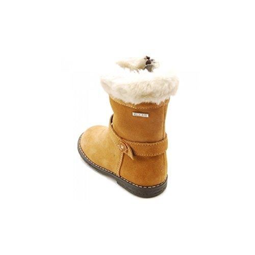 Start Rite Aqua Fur, Boots fille Marron - marrón - Daim Marron