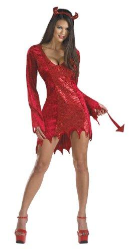 Kostüm Diablesse - Cesar-C466-001-Kostüm-Teufelin rot sexy