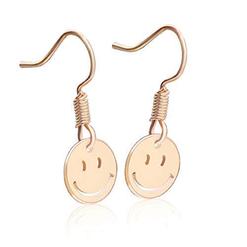Ohrstecker Ohrringeeuropa Und Amerika Minimalistische Spaß Mini Smiley Ohrringe Blaue Dünne Pilz Ohrringe Kreative Mode Ohrringe