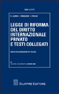 Legge di riforma del diritto internazionale privato e testi collegati