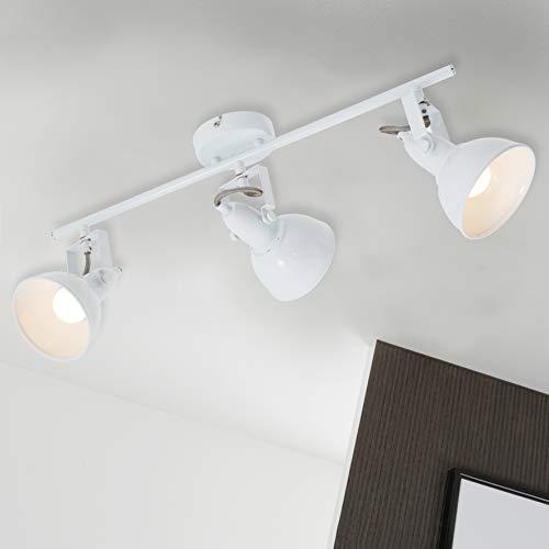 Briloner Leuchten 2049–036–Lámpara de techo, lámpara de techo con 3focos giratorios y...