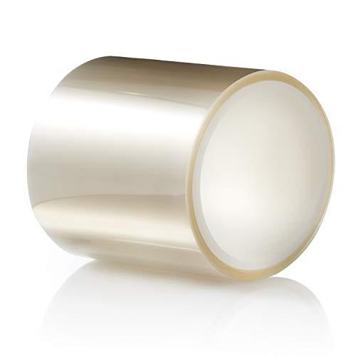 TIERRAFILM Tortenrandfolie Transparent Acetat Rolle - 10cm x 10m 125 mikron Dessertringe